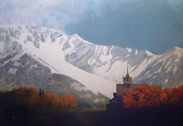 Den Kommende Vinteren - 30 x 43.5 giclée on canvas (unmounted) by Al Young