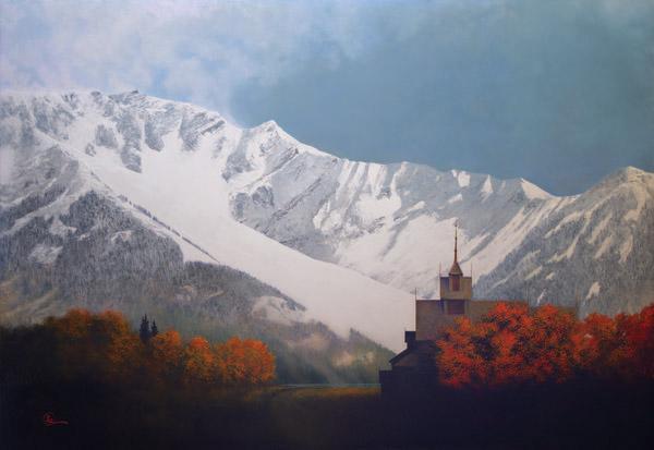 Den Kommende Vinteren - 40 x 58 giclée on canvas (unmounted) by Al Young