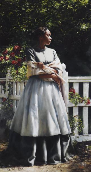 Till We Meet Again - 32.75 x 61.5 giclée on canvas (unmounted) by Elspeth Young