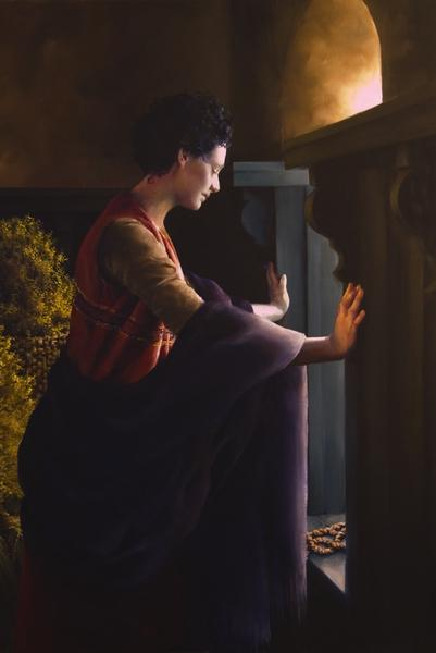 Waiting For The Promise - 20 x 30 giclée on canvas (unmounted) by Elspeth Young