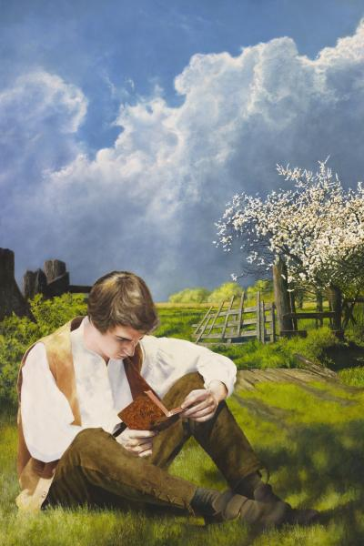 The Dawning Of A Brighter Day - 20 x 30 giclée on canvas (unmounted) by Al Young
