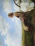 If God So Clothe The Field - 14 x 18 print