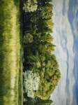 Green And Pleasant Land - 18 x 24 giclée on canvas (pre-mounted)