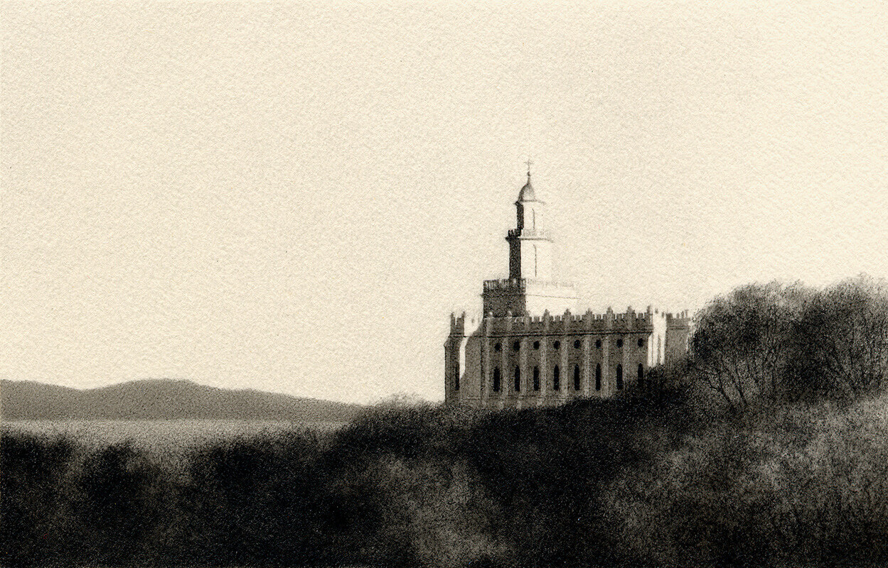 Click here for more information about Al Young Studios artworks created for use in LDS Temples