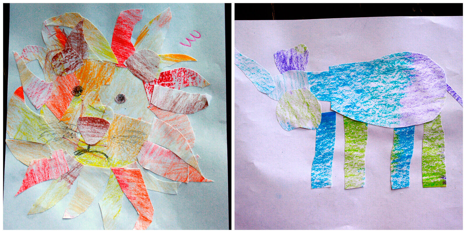 Last fall my younger children were especially excited to see Elspeth's art lessons!