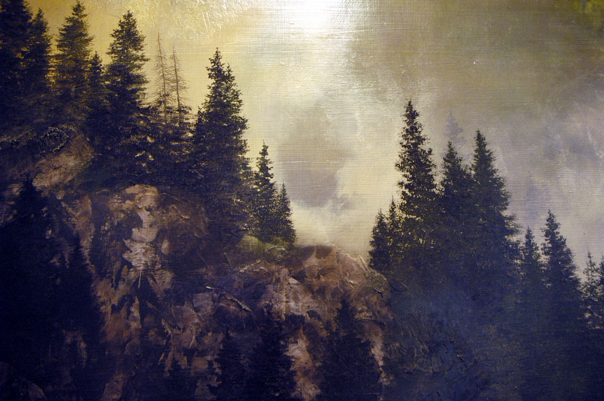 Detail from Legend by Al R. Young