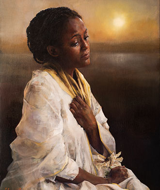 The blessings afar offAn original oil painting by Elspeth Young