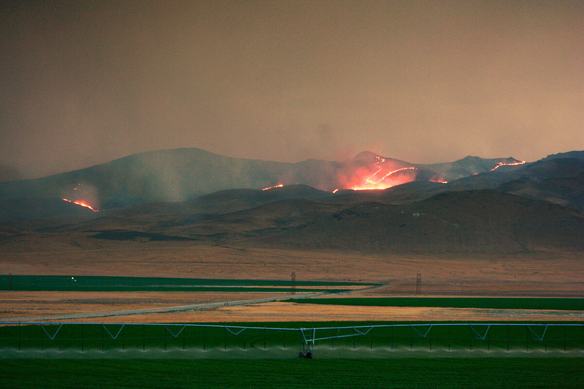 Late summer heat mixed with dry lightning storms produces wildfires every year.Some time...