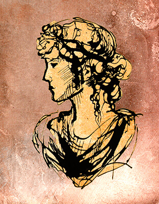 Early Roman Hairstyle