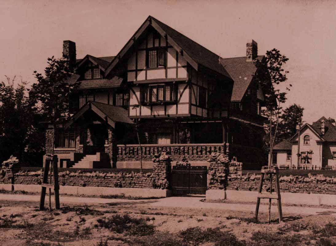 The knight-mangum mansion, provo, utah, completed in 1908Photograph courtesy of the Marriott Library...