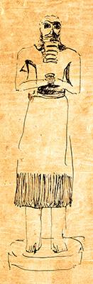 Teraph Figure No. 1