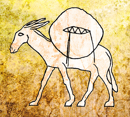 Symbol for the Tribe of Issachar