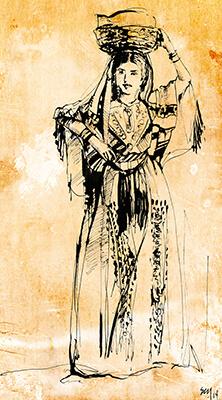 Hebrew Costume Study