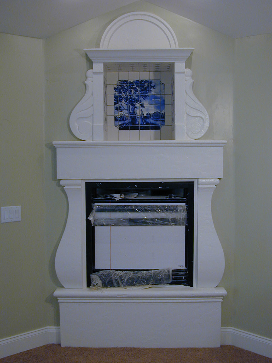 A unique bedroom fireplace.See more . . .