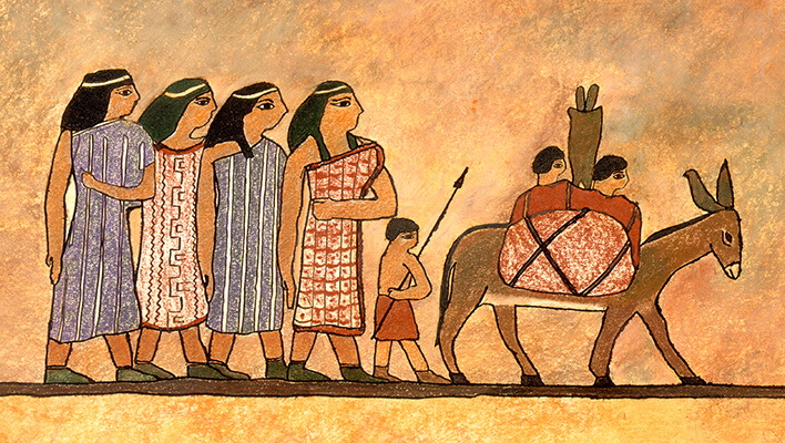 Canaanite Procession