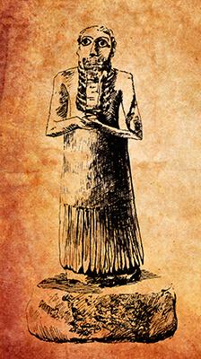 Teraph Figure No. 3