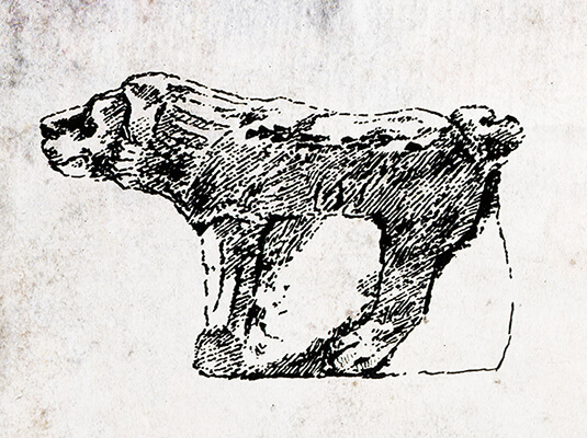 Symbol for the Tribe of Benjamin