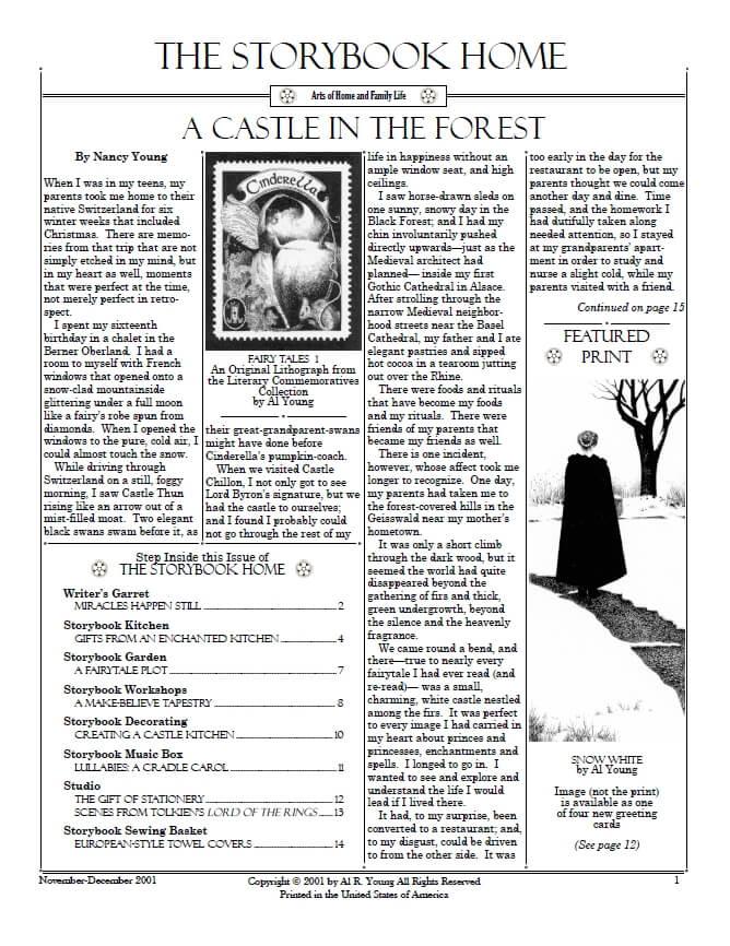 Vol. 2 No. 1A Fairytale Christmas
