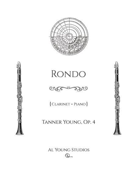 Rondo (Clarinet and Piano) by Tanner Young