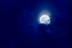 Moon through the Clouds, I