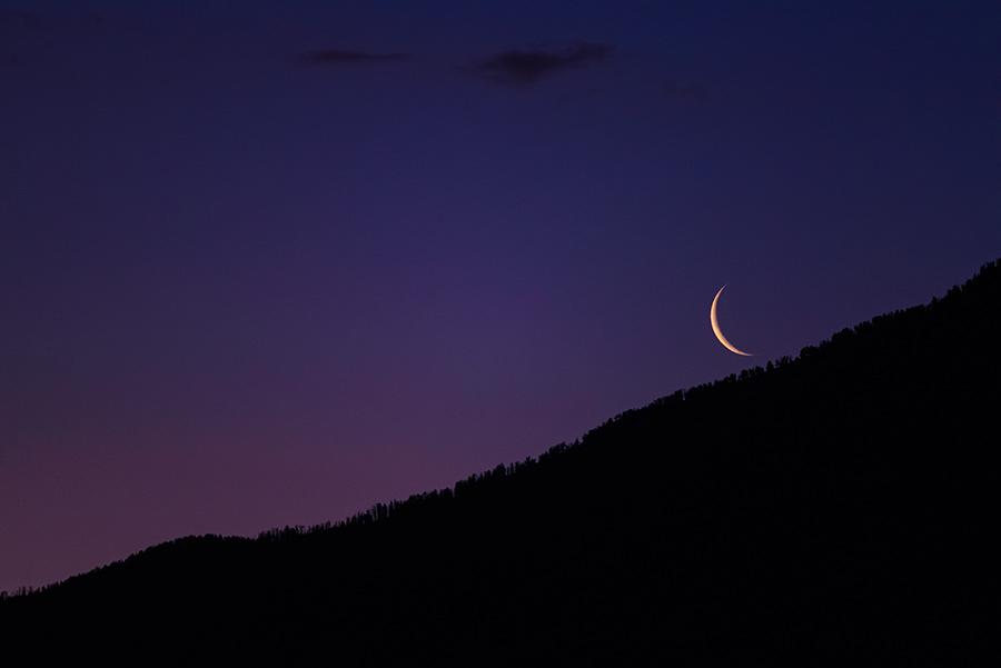 Crescent Moonrise, I