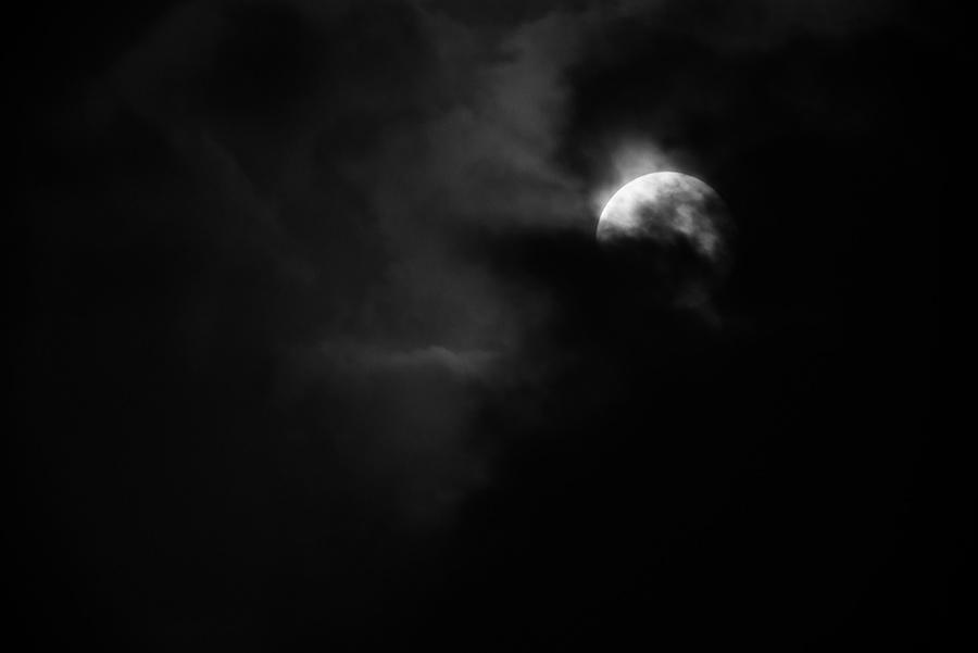 Moon through the Clouds, VI