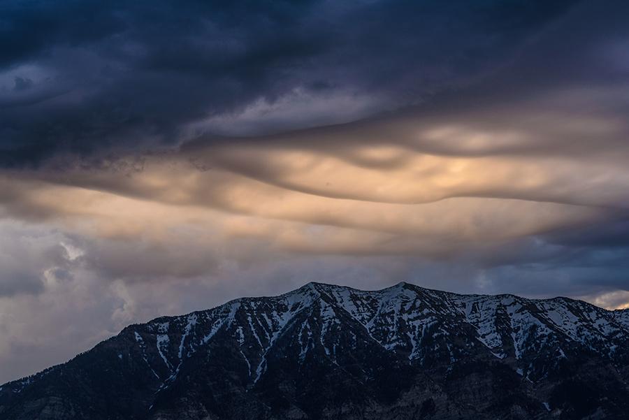 Asperitas Clouds at Dawn, III