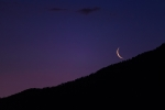 Crescent Moonrise, I