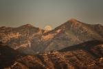 Moonrise between the Peaks