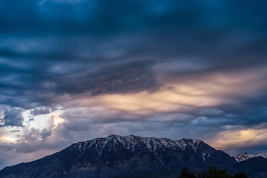 Asperitas Clouds at Dawn, II