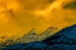 Golden Storm - 8 x 12 giclée on canvas (pre-mounted)