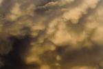 Mammatus Clouds, I - 8 x 12 giclée on canvas (pre-mounted)