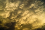 Mammatus Clouds, III - 20 x 30 giclée on canvas (unmounted)
