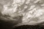 Mammatus Clouds, V - 8 x 12 giclée on canvas (pre-mounted)