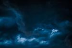 Dark Clouds - 8 x 12 giclée on canvas (pre-mounted)